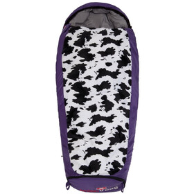 Grüezi-Bag Cow Grow Sacco A Pelo Bambino, purple